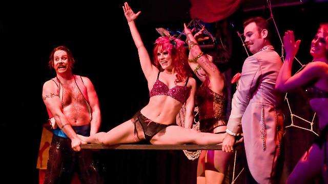 soria burlesque spettacolo