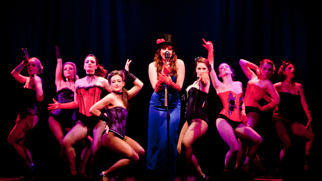 vintage burlesque cabaret