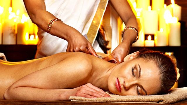 massaggio shirodara olio