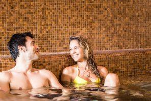 Un'esperienza di benessere esclusiva nella room spa!