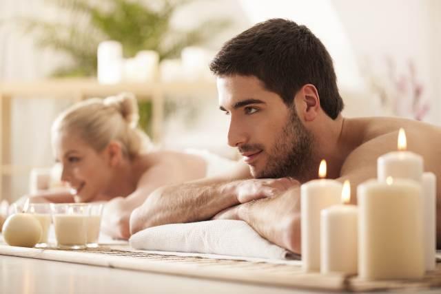 massaggi candele