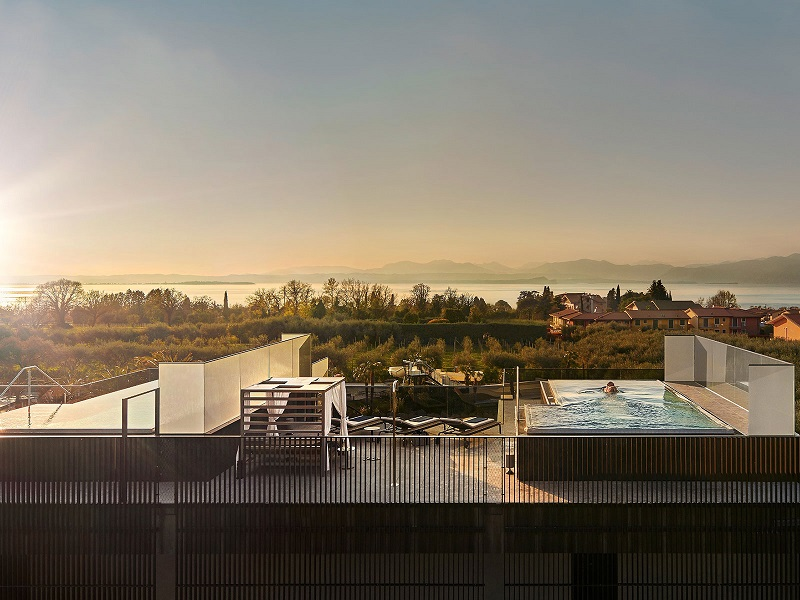 hotel con room spa sul lago di Garda