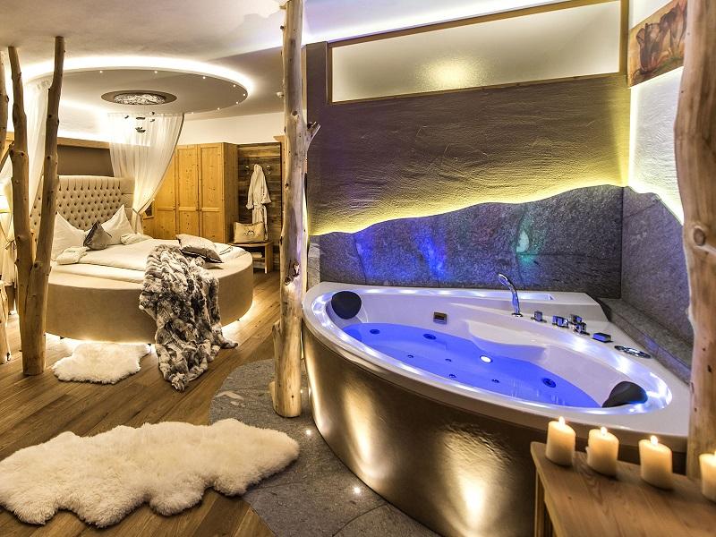 hotel con room spa in montagna