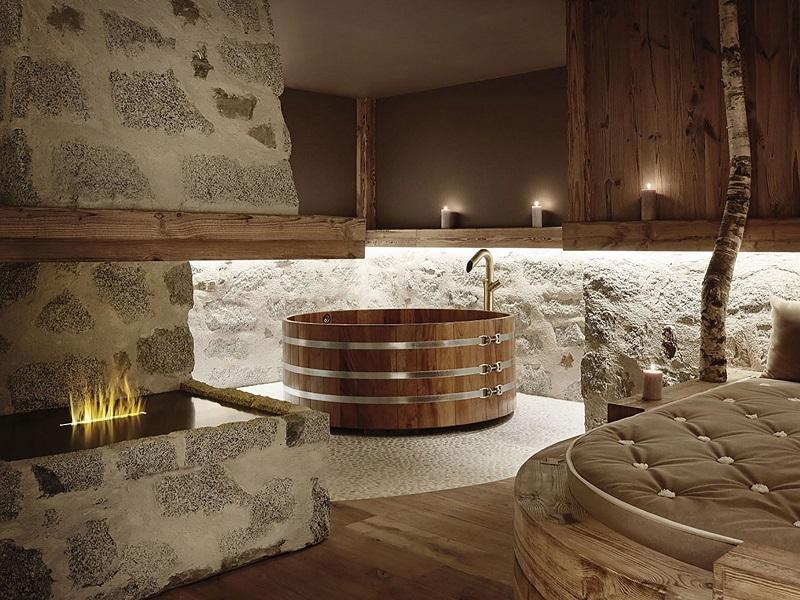 hotel con room spa sulle Dolomiti