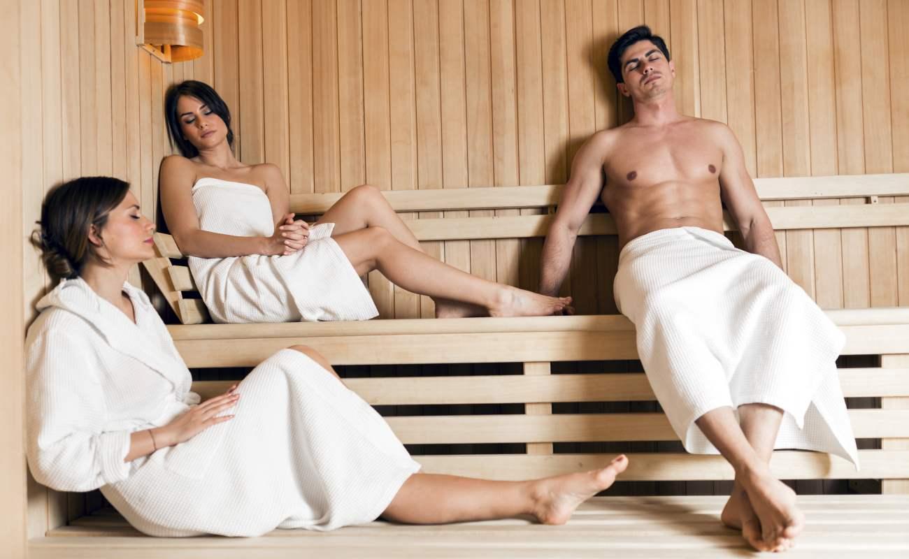 trattamento in sauna