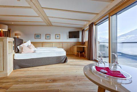 Suite Panorama con spa privata e vista Dolomiti
